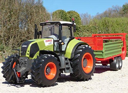 WIM-SHOP RC Traktor CLAAS Axion 870 + Anhänger in XL Länge 78cm Ferngesteuert