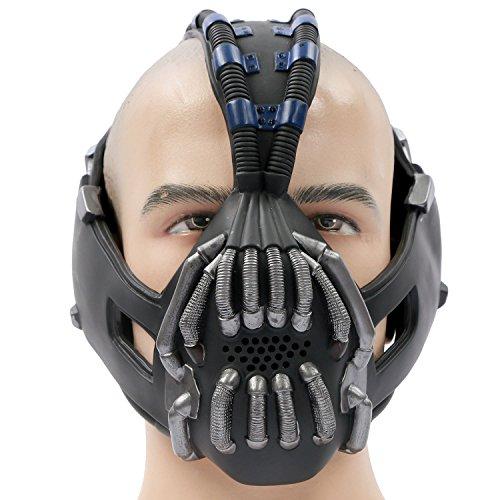 Xcoser Halloween Maske Cosplay Kostüm Verrücktes Kleid Latex Replik für Erwachsene Kleidung Zubehör Merchandise