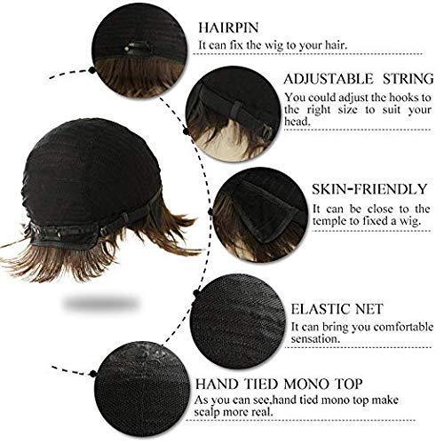 Ruisenna 100 Human Hair Short Wig For B Buy Online In United Arab Emirates At Desertcart
