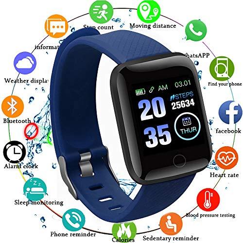 Edhua 116 Plus Pulsera Actividad, Smartwatch HD Touch Screen Fitness Tracker, Pulsera Inteligente, Sport Fitness Tracker… 1