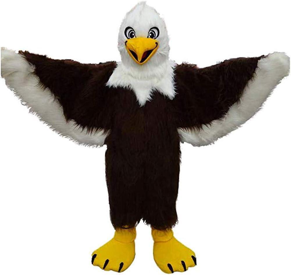 SANEYDER Disfraz de mascota de águila para cosplay