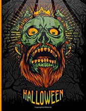 Halloween: Spooky Coloring Book for Adults and Teens Featuring 35 Detailed Colouring Illustrations, with Scary Monsters, E...