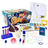 Learn & Climb Kids Science Kit with Lab Coat - Over 20 Science Experiments. Ages 4+ ( Color of Lab...