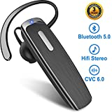 Bluetooth Headset New Bee 22 Hours Bluetooth Lightweight Handsfree Headset Wireless Earpiece Earbuds