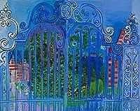 Raoul Dufy ジクレープリント キャンバス 印刷 複製画 絵画 ポスター (グリッド)