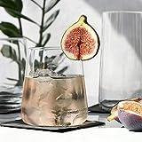 Krosno Gin-Gläser Wassergläser Weißweingläser Trinkgläser | Set von 6 | 380 ML | Avant-Garde Kollektion | Perfekt für zu Hause Restaurants und Partys | Spülmaschinenfest und Mikrowellengeeignet - 7