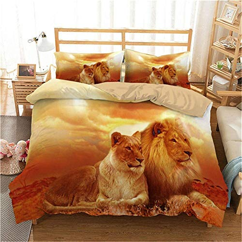 Bedclothes-Blanket Juego de Cama Matrimonio,Conjunto de Tres Piezas de impresión Digital 3D de Cuatro Temporadas universales-5_203 * 228cm