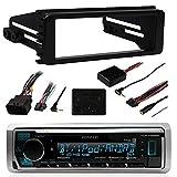 98-2013 Marine Harley Touring Stereo Radio Install Adapter Dash Kit Flht Flhx Flhtc Kenwood
