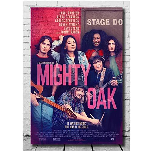NFGGRF Mighty Oak Movie Pictures Poster und Drucke Leinwanddruck Wandkunst Wohnzimmer Wohnkultur Druck auf Leinwand-50x70cm ohne Rahmen