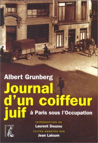 Journal d'un coiffeur juif à Paris sous l'occupation