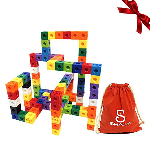SHAWE Kids Construction Toys, Snap Cube Autism Toys, Creative and...