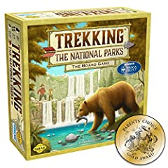 BEST-SELLING & AWARD-WINNING NATIONAL PARKS GAME: Winner of the MENSA and PARENT'S CHOICE AWARD, check out what our customers have to say in the reviews CREATED BY NATIONAL PARKS ENTHUSIASTS: Parents who had traveled to every single National Park wor...