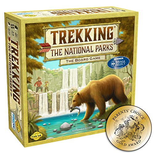 Trekking The National Parks: The AwardWinning Family Board Game Second Edition