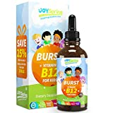 Burst B12 for Kids - Tasty Vitamin B Complex for Energy - Great Tasting Liquid Drops for Picky...