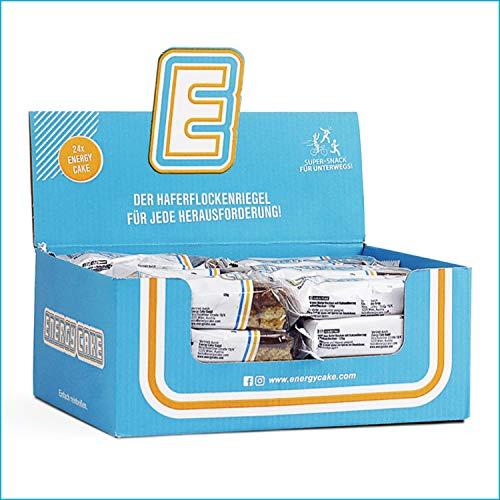 Energy Cake – Fitness Riegel aus Haferflocken mit langkettigen Kohlenhydraten – Hafer Snack & Sattmacher für den Alltag mit weniger Zucker & unglaublichem Geschmack - Schoko-Kokos 24x 125g (3kg)