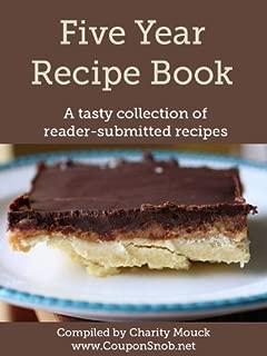 Five Year Recipe Book