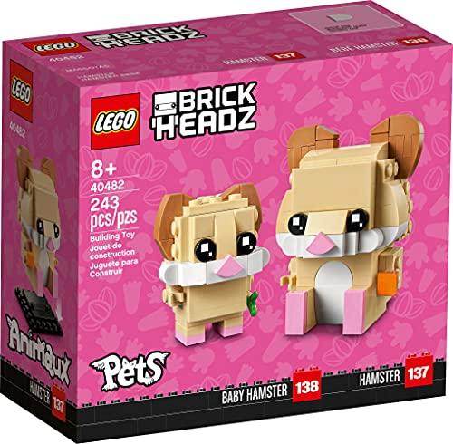 Lego BrickHeadz Pets Hamster 40482 243 Pieces