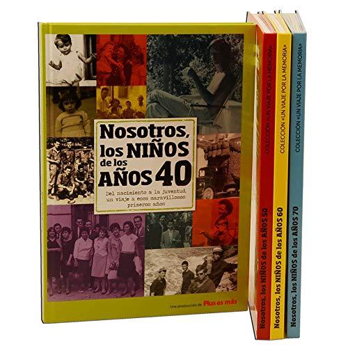 Calledelregalo Libro de tu año de Nacimiento, Libro de la década de los 40 con Tarjeta Personalizada - Regalo para cumpleaños - Otras Edades Disponibles