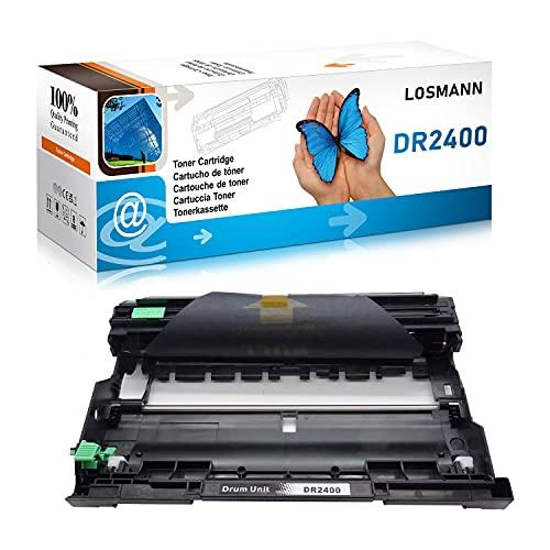 LOSMANN DR2400 Tamburo Compatibile per Brother DR-2400 per Brother MFC-L2710DW HL-L2350DW DCP-L2530DW HL-L2370DN DCP-L2510D DCP-L2550DN HL-L2375DW HL-L2310D MFC-L2730DW 1x Trommel