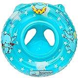 TOYMYTOY Piscina Inflable de Los Niños Bebe Asiento del Flotador del Niño Elefante (Azul)