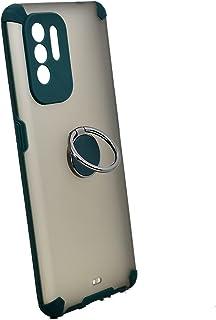 جراب حامل معدني ذو مغناطيس لهاتف Oppo A94 (أخضر)