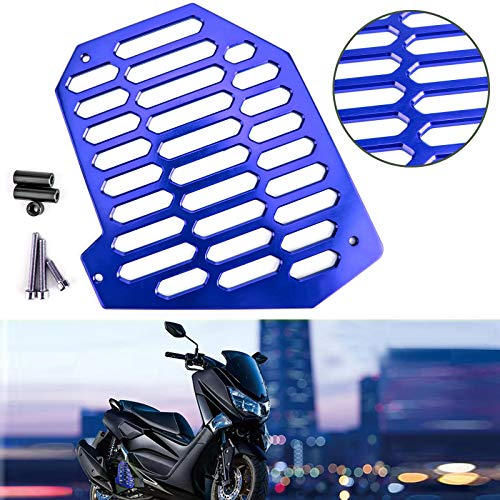 Artudatech BLUW RADIATOR GRILLE GRILL COVER GUARD PROTECTOR FOR YAMAHA NMAX 125/155 NVX155