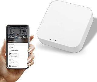Tuya Zigbee Hub Bridge, Smart Home Zigbee Gateway Hub Remote Control Zigbee Devices Via Smart Life APP Compatible with Alexa
