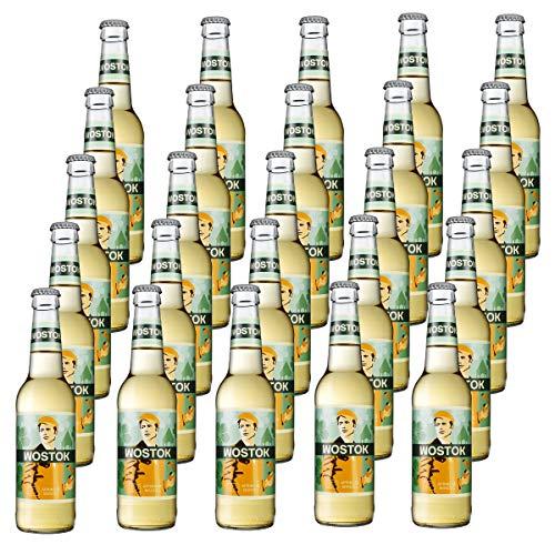 Wostok Aprikose Mandel 25 Flaschen je 0,33l