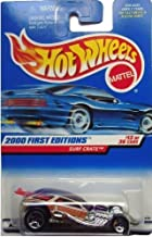 Hot Wheels 2000 First Editions -#13 Surf Crate Dark Purple Roof #2000-73 Collectible Collector Car Mattel 1:64 Scale