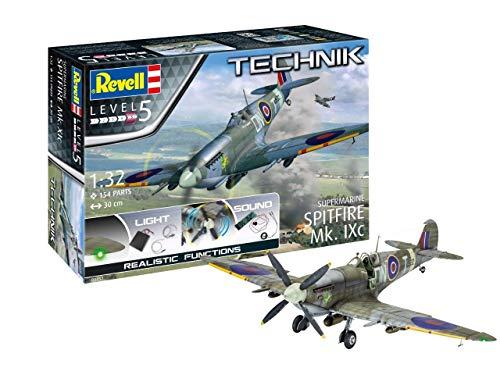 ドイツレベル 1/32 レベルテクニックシリーズ イギリス空軍 スピットファイア Mk.Ixc プラモデル 00457