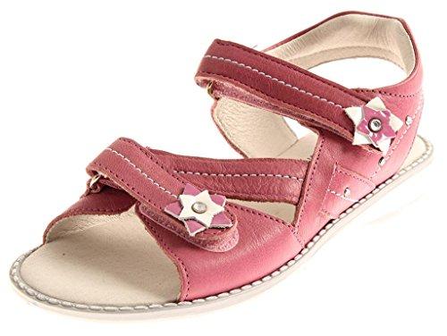 Richter Sommer Sandalen Ledersandalen Mädchen Schuhe Leder 52.5411 Farbe Rose, Schuhgröße 25