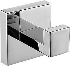 Homovater 304 roestvrij staal chroom handdoek haak voor badkamer enkele handdoek gewaad haak jas Hanger muur gemonteerd, c...