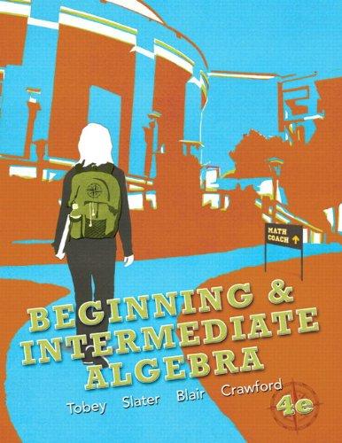 Beginning & Intermediate Algebra plus MyMathLab/MyStatLab -- Access Card Package (4th Edition)