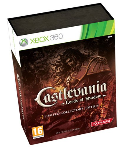 CASTLEVANIA LORDS OF SHADOW LIMITED COLLECTOR'S EDITION XBOX 360 UK