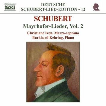 Schubert: Lied Edition 12 - Mayrhofer, Vol.  2