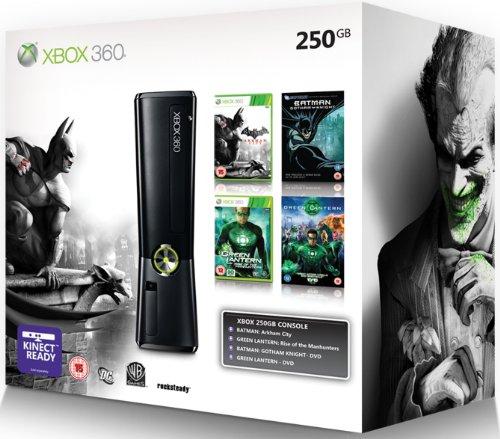 Xbox 360 - Xbox 360 250GB Consola - Batman Arkham City Bundle [Importación inglesa]
