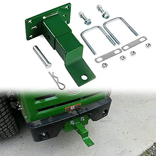 ELITEWILL Lawn Tractor Trailer Hitch Zero Turn Mower Rear Attachment Fit for John Deere Gas Z Trak Z225 Z245 Z445 Z425 Z465 & Z910 Z920 Z925 Z930 Z950 Z960 Z970
