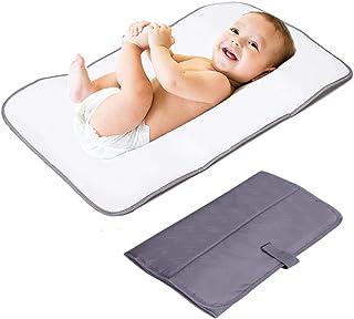 comprar comparacion Lekebaby Portátil Cambiador Plegable, Cambiador Portátil de Pañales para Bebé, Kit Cambiador de Viaje, Gris