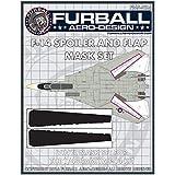 ファーボールエアロデザイン 1/48 F-14トムキャット スポイラー&フラップ プラモデル用マスキングシート FMS-024