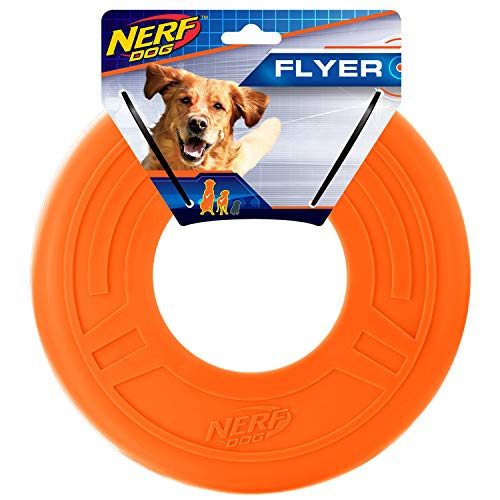 Nerf Dog 10in Atomic Flyer - Orange