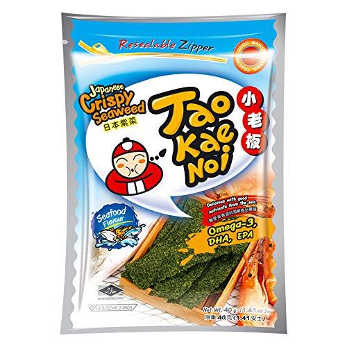 Taokaenoi Crispy Seaweed Seafood (Algensnack), 40 g