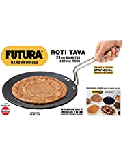 Hawkins Futura Hard Anodised Induction Compatible Roti Tava 24 cm