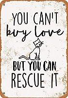 あなたは猫を救うことができます メタルポスター壁画ショップ看板ショップ看板表示板金属板ブリキ看板情報防水装飾レストラン日本食料品店カフェ旅行用品誕生日新年クリスマスパーティーギフト