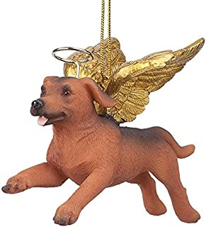 Christmas Tree Ornaments - Honor The Pooch Dachshund Holiday Angel Dog Ornaments