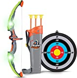 SainSmart Jr.- Juego de Tiro con Arco 3 Flechas, Regalo para niños a Partir de 6 años, Color Verde (Archery Set)