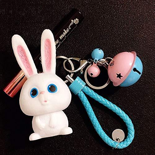 Bubbry film, liefde, huisdier, grote geheime leuke konijnen-karikatuur-sleutelhanger, tashanger