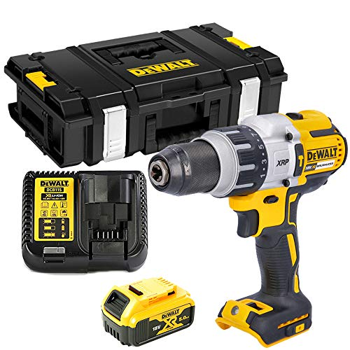 DCD996 18V BL Combi Drill with 1 x 5.0Ah Battery, Charger & DS150 Case