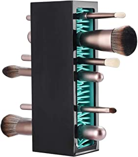 ELECDON Makeup Brushes Holder Organizer, Silicone Vanity Air Drying Rack Display Storage for Brush Eyeliners Practical Cos...