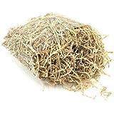 ROSENICE Relleno de trituración de papel de corte de arrugas para envasado de regalo cesta llenado 100g (café ligero)