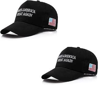 2 Pack - Make America Great Again Hat, Donald Trump MAGA Cap Adjustable 2020 Keep America Great Baseball Hat